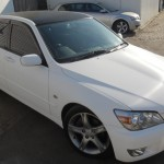 Toyota Altezza – full white carbon fibre wrap