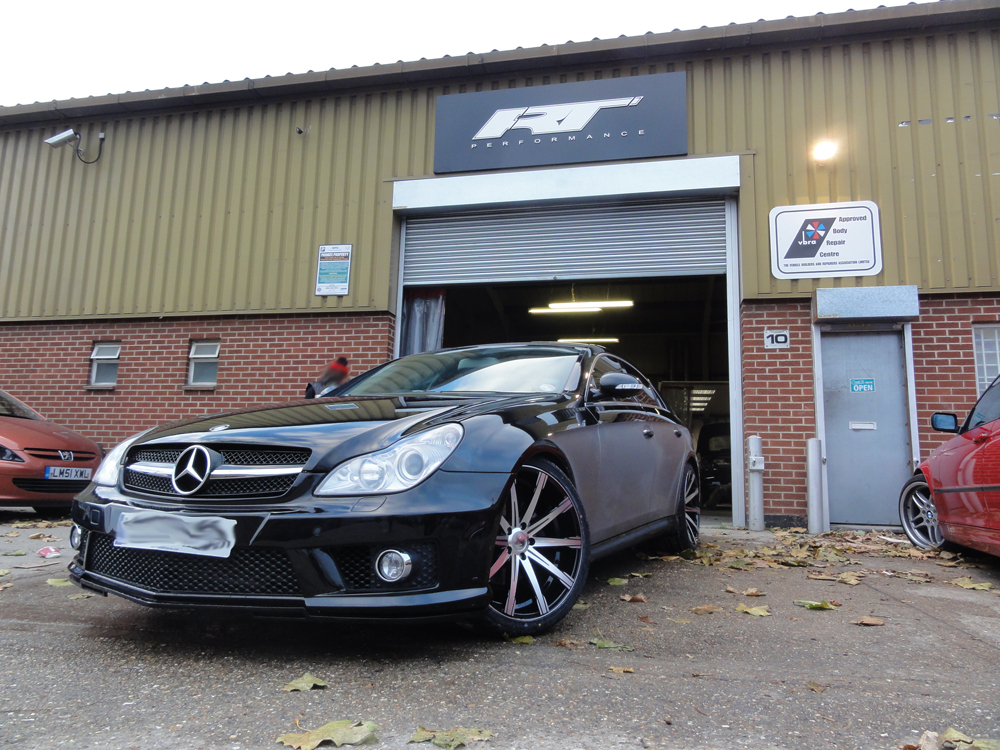 Rt performancemercedes cls car body repairs and body kit for Mercedes benz route 22