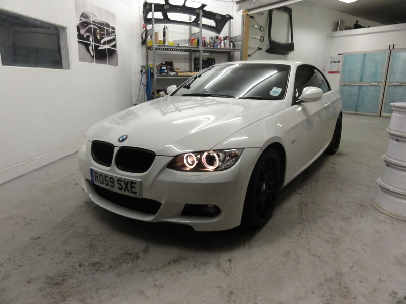 RT-Performance - BMW 335i M-sport before styling customization in Wembley, London