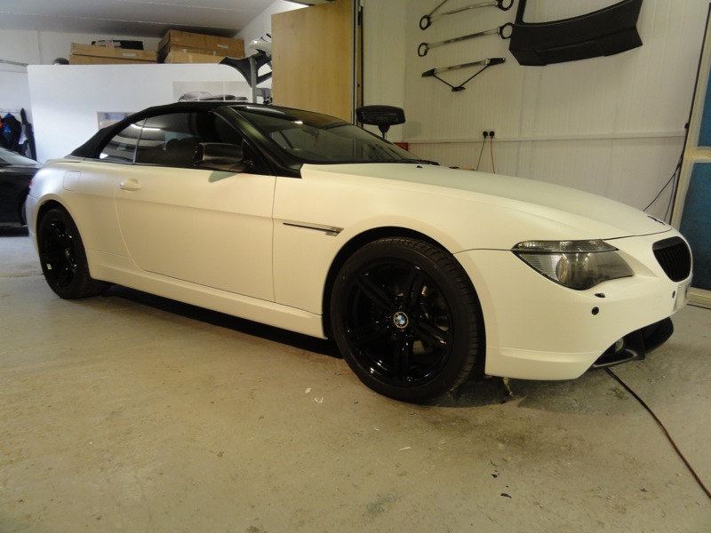 RT-Performance - BMW 645 before customization in Wembley