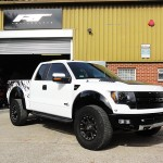 Ford F150 Raptor Body Work Correction
