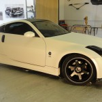 Pearl carbon Nissan 350z