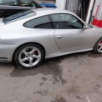 Porsche 996 side repair