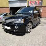 Range Rover Lips Kit Install