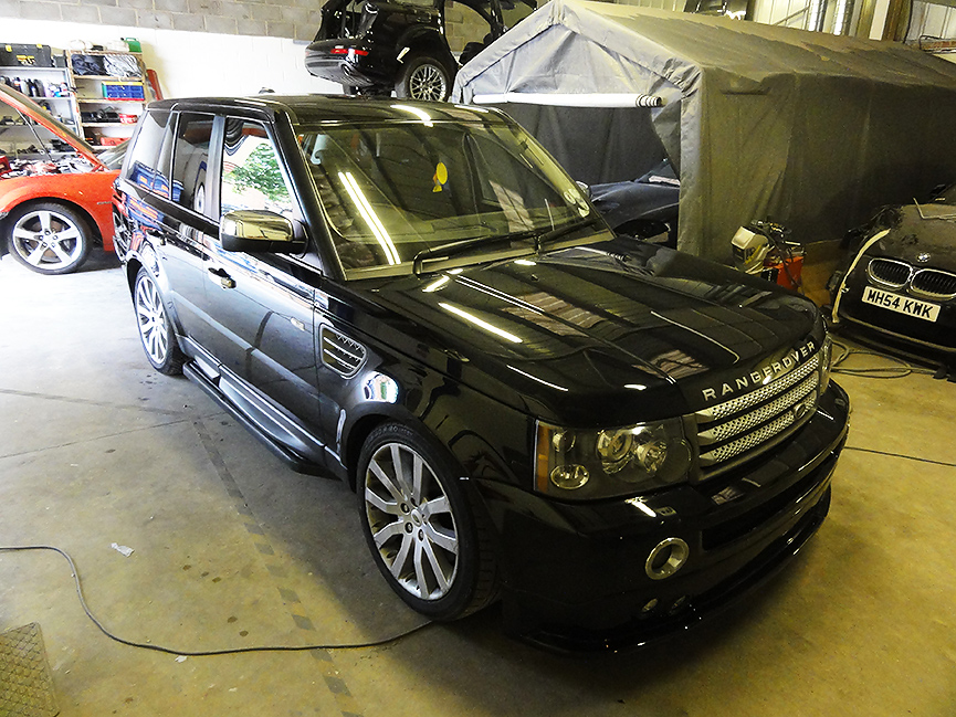 Range Rover Sport at RT-Performance