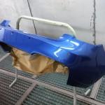 BMW 1M bumper respray