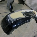 porsche boxter s body repair