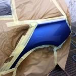 BMW 1M scratch repair