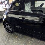 Fiat 500 Gucci scratch repair
