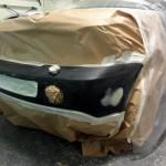 Range Rover Sport bumper respray