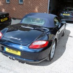 porsche boxter s body repairs