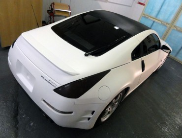 350z matte white exterior tuning