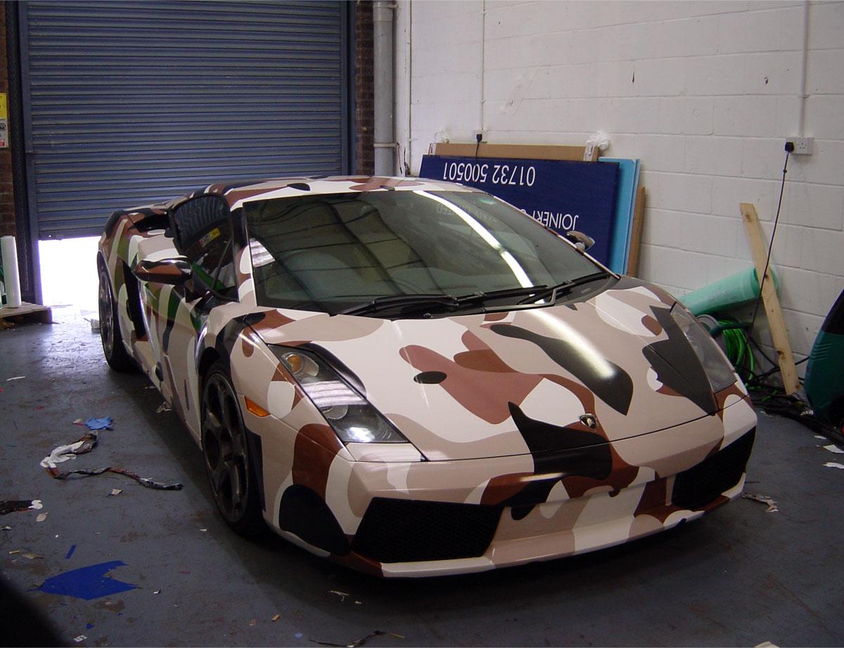 Full Lamborghini Gallardo Wrap
