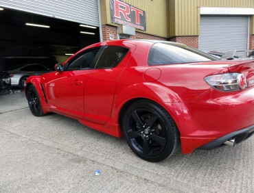 Mazda RX8 kit installation