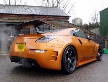 Nissan 350z customization