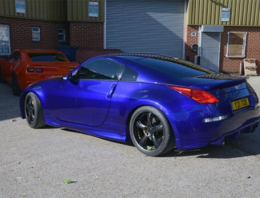 Nissan 350z customization at rt performance