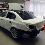 bmw e60 m5 accident repair in london