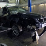 bmw e60 accident repair