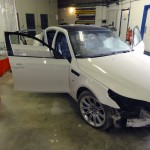 bmw e60 m5 accident repair
