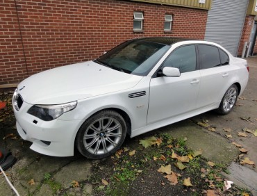 bmw e60 accident repair in london