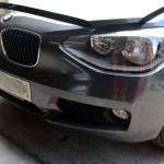 bmw f20 front bumper repair