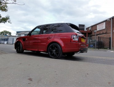 Body kit Range Rover installation
