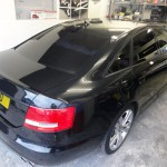 dark smoked tinting