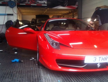 ferrari window tining in london
