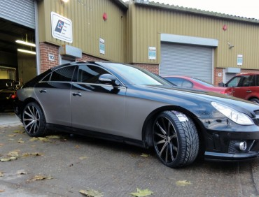 mercedes cls london body shop
