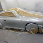 porsche 996 respray car