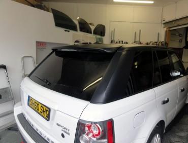 range rover window tints